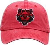 Top of the World Men's Arkansas State Red Wolves Scarlet 1 Wave Adjustable Hat product image