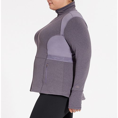 8cb334e73d6f2 CALIA Women s Plus Size Core Heather Fitness Jacket. NOW  39.97 (49% off )  WAS   79.00 . Product Image. Product Image. Product Image