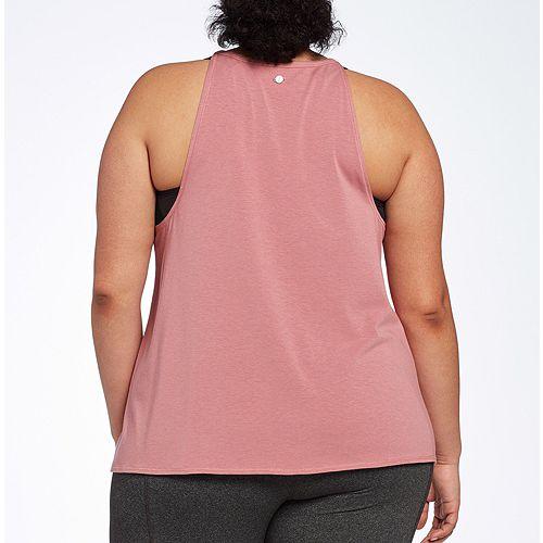fefb8e0e7e805 CALIA by Carrie Underwood Women s Plus Size Flow High Neck Graphic ...