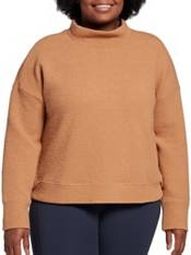 CALIA by Carrie Underwood Women's Cloud Mock Neck Pullover Sweater (Regular and Plus) product image