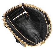 Wilson 33.5'' M1D A2000 SuperSkin Series Catcher's Mitt w/ Spin Control 2021 product image