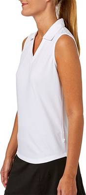 Lady Hagen Women's Essentials Sleeveless Golf Polo – Plus Size product image
