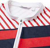 Lady Hagen Women's USA Stripe Blocked Sleeveless Golf Polo product image