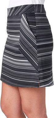 Lady Hagen Women's Empower Collection Variegated Stripe Woven Golf Skort product image