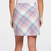 Lady Hagen Women's Tropical Plaid 17'' Golf Skort product image