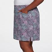 Lady Hagen Women's Sea Animal Print Golf Skort – Extended Sizes product image