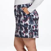 Lady Hagen Women's Printed Floral Golf Skort - Extended Sizes product image