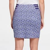 Lady Hagen Women's Magnolia Print High Waist 18.5'' Golf Skort product image