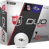Wilson Staff Duo Soft Baltimore Ravens Golf Balls product image