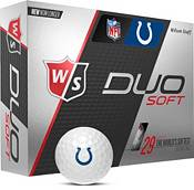 Wilson Staff Duo Soft Indianapolis Colts Golf Balls product image