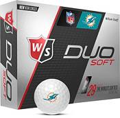 Wilson Staff Duo Soft Miami Dolphins Golf Balls product image