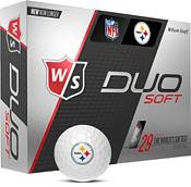Wilson Staff Duo Soft Pittsburgh Steelers Golf Balls product image