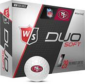 Wilson Staff Duo Soft San Francisco 49ers Golf Balls product image