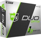 Wilson Staff Duo Soft Optix Green Golf Balls product image