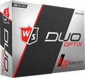 Wilson Staff Duo Soft Optix Red Golf Balls product image