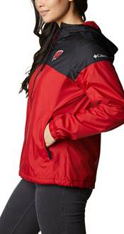 Columbia Women's Wisconsin Badgers Red/Black Flash Forward Lined Jacket product image