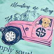 Simply Southern Women's Mountains Are Calling Short Sleeve T-Shirt product image