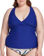 CALIA by Carrie Underwood Women's Wrap Front Tankini Top product image
