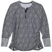 CALIA by Carrie Underwood Women's Zip Long Sleeve Rashguard (Regular and Plus) product image