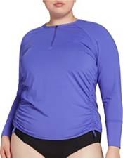 CALIA by Carrie Underwood Women's 1/4 Zip Long Sleeve Rashguard (Regular and Plus) product image