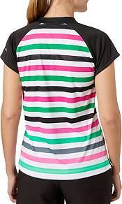 Slazenger Women's Lite Bright Collection Cap Sleeve Stripe Golf Polo product image