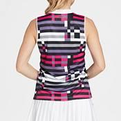 Slazenger Women's Night Printed Sleeveless Golf Polo product image