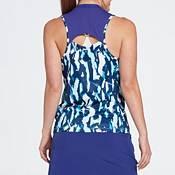 Slazenger Women's Fragment Back Slit Sleeveless Golf Polo product image