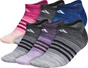 adidas Women's Superlite Multi Space Dye No Show Socks – 6 Pack product image