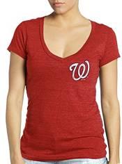 Majestic Threads Women's Washington Nationals Juan Soto V-Neck T-Shirt product image