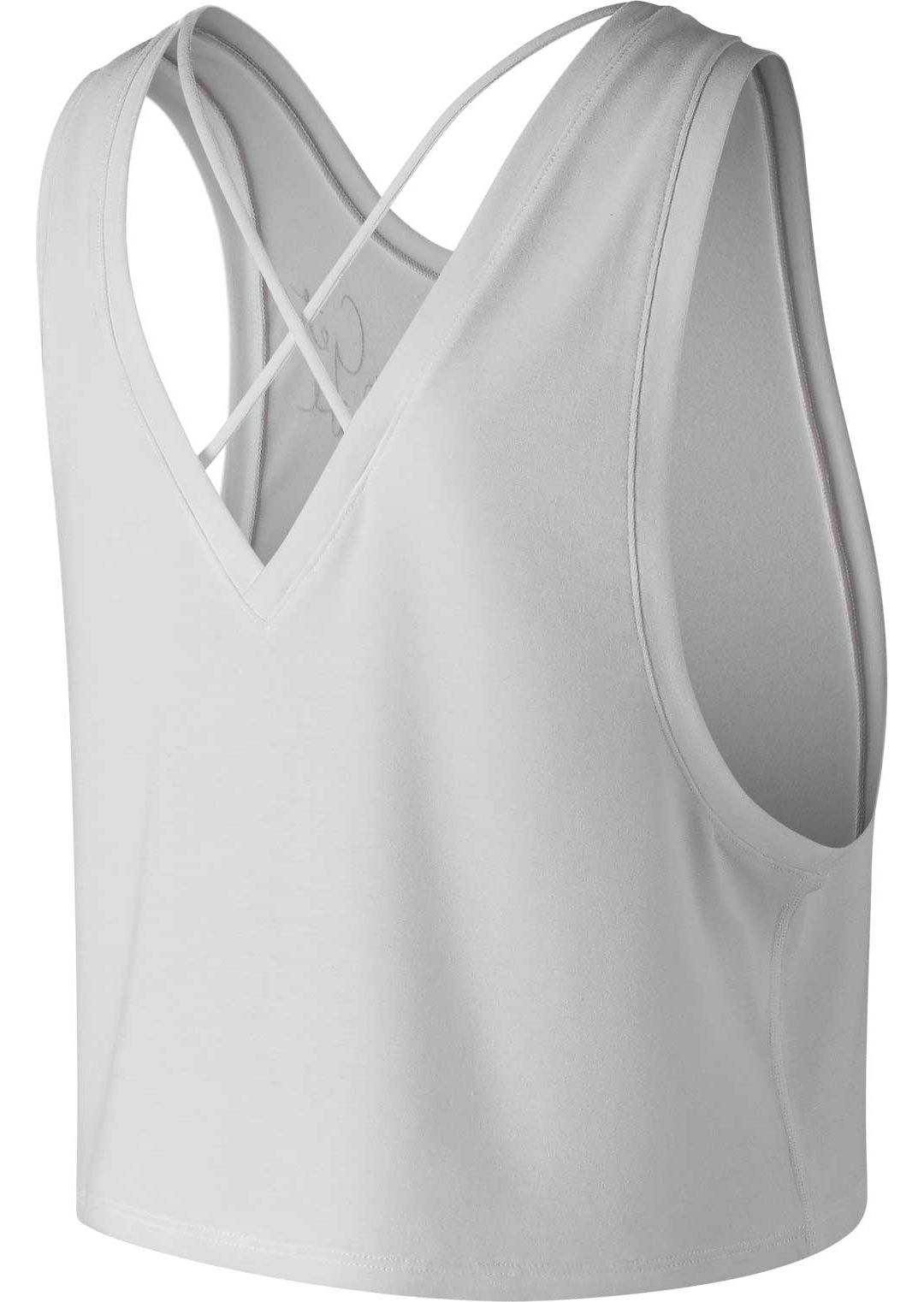 5bff48653fea9 New Balance Women's Transform Two Way Crop Tank Top. noImageFound.  Previous. 1. 2
