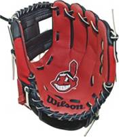 """Wilson 10"""" A200 Cleveland Indians T-Ball Glove product image"""