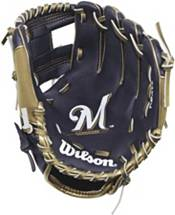 """Wilson 10"""" A200 Milwaukee Brewers T-Ball Glove product image"""