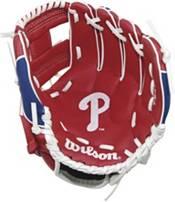 "Wilson 10"" A200 Philadelphia Phillies T-Ball Glove product image"