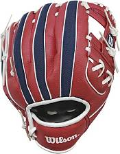"""Wilson 10"""" A200 Washington Nationals T-Ball Glove product image"""
