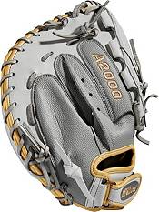 Wilson 34'' A2000 SuperSkin Series Fastpitch Catcher's Mitt product image