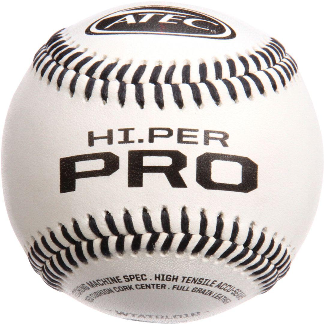 985615fd3 ATEC Hi.Per Pro Leather Training Baseballs - 12 Pack