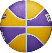 Wilson Los Angeles Lakers Retro Mini Basketball product image