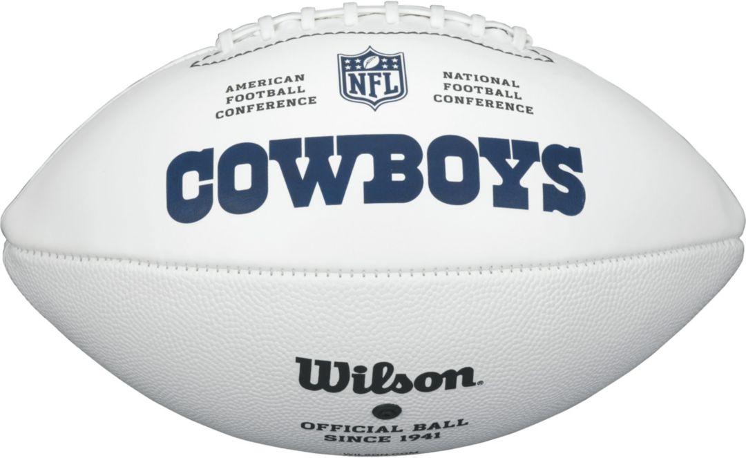 d44d31a5 Wilson Dallas Cowboys Autograph Official-Size Football