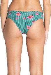 Billabong Women's Seain Green Hawaii Low Bikini Bottoms product image