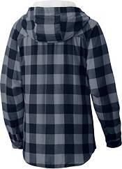 Columbia Women's Illinois Fighting Illini Blue/Grey Times Two Long Sleeve Shirt product image