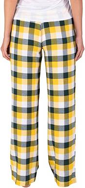 Concepts Sport Women's Green Bay Packers Breakout Green Flannel Pants product image