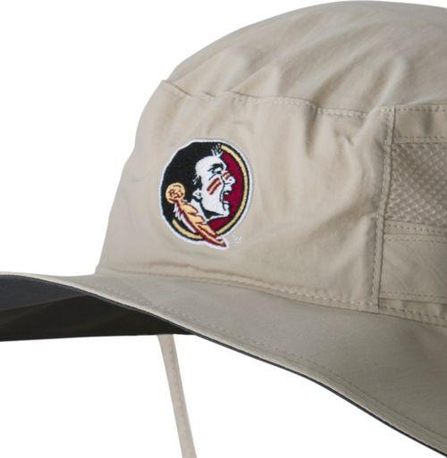 8ee7b472 Columbia Men's Florida State Seminoles Khaki Bora Bora Booney ll Hat.  noImageFound. Previous. 1. 2