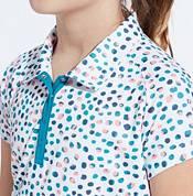 Slazenger Girls' Dot Printed Short Sleeve Golf Polo product image