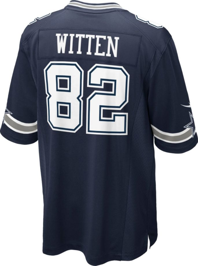 timeless design ee860 3dbf2 Nike Youth Game Jersey Dallas Cowboys Jason Witten #82