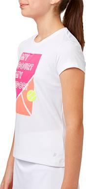 Prince Girls' Graphic Tennis T-Shirt product image