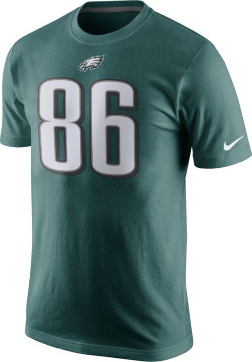 47f87a704df Nike Youth Philadelphia Eagles Zach Ertz #86 Pride Green T-Shirt ...