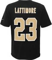 Nike Youth New Orleans Saints Marshon Lattimore #23 Pride Black T-Shirt product image