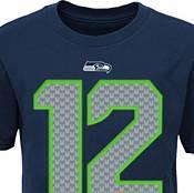 Nike Youth Seattle Seahawks Fan #12 Navy T-Shirt product image
