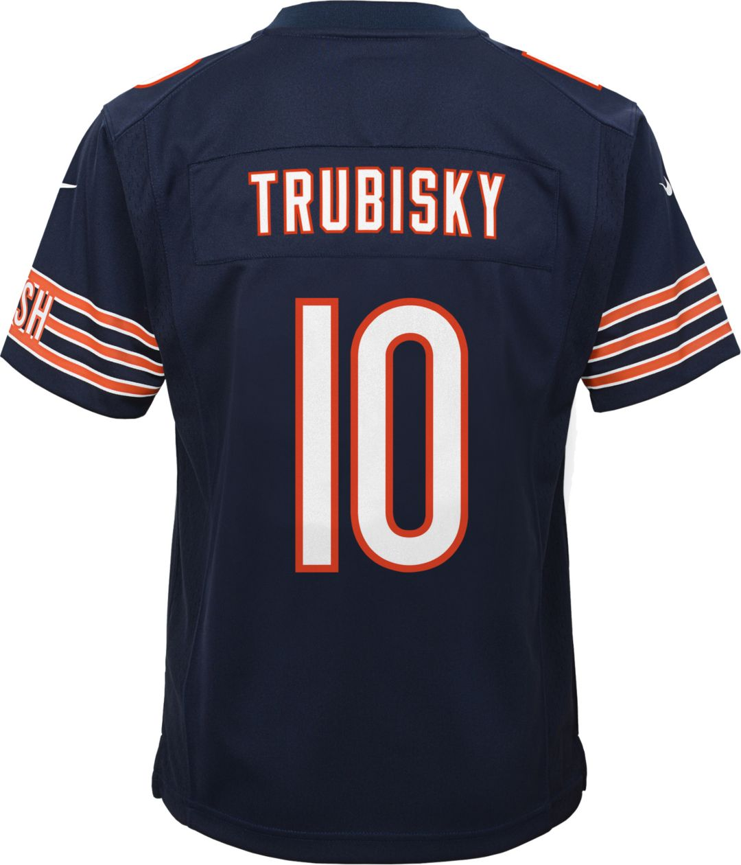 quality design 4a8a0 2ffa9 Nike Youth Home Game Jersey Chicago Bears Mitchell Trubisky #10
