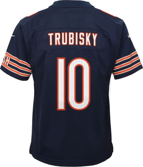 072684256 Nike Youth Home Game Jersey Chicago Bears Mitchell Trubisky  10.  noImageFound. Previous. 1. 2. 3